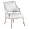 This item: Brandy Gray Salt Pewter Muslin Occasional Chair