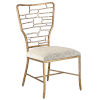 This item: Vinton Sand and Guilt Bronze Side Chair