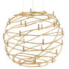 This item: Franchette Contemporary Gold 26-Light Chandelier