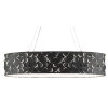 This item: Othman Blacksmith and Sugar White Three-Light Oval Chandelier