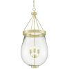 This item: Darius Polished Brass Three-Light Pendant