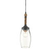This item: Hightider French Black and Natural One-Light Mini Pendant