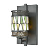 This item: Tiffany Bronze One-Light 7-Inch Wall Sconce