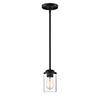 This item: Jedrek Black One-Light Mini Pendant