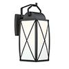 This item: Fairlington Black One-Light Wall Lantern