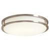 This item: Brushed Nickel 14-Inch 3000K LED Flush Mount