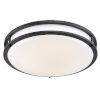 This item: Oil Rubbed Bronze 14-Inch LED Flush Mount