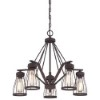 This item: Brooklyn Bronze Five-Light Chandelier