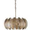 This item: Sawyers Bar Havana Gold Four-Light Pendant