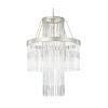 This item: Amelia Silverado Four-Light Chandelier