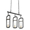 This item: Bar None Aged Gold And Rustic Bronze Three-Light Pendant