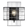 This item: Vivienne Black and Gray One-Light Sconce