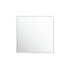 This item: Kye Gold 40 x 40 Inch Square Wall Mirror
