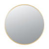 This item: Cottage Gold Round Wall Mirror