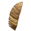 This item: Banana Leaf Gold Three-Light Wall Sconce