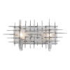 This item: Spike Havana Steel Two Light Bath Vanity