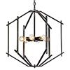 This item: Offset Forged Iron Six-Light Pendant