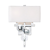 This item: Engeared Chrome Two-Light Wall Sconce