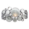 This item: Fascination Nevada Recycled Steel and Glass One-Light Bath Fixture