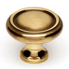 This item: Polished Antique Brass 1 1/4-Inch Knob