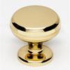 This item: Polished Brass 1 1/8-Inch Knob