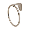 This item: Luna Satin Nickel Towel Ring