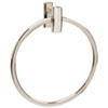 This item: Arch Polished Nickel 7-Inch Towel Ring