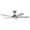 This item: Dorian Graphite LED 60-Inch Eco Ceiling Fan