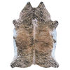 This item: Prairie Hides Gjovik Brown-Black Animal Skin: 5 Ft. 6 In. x 6 Ft. Rug