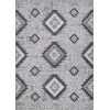 This item: Veranda Posh Light Gray and Anthracite 5 Ft. 3 In. x 7 Ft. 6 In. Rectangular Indoor/Outdoor Area Rug