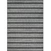 This item: Veranda Havasu Stripe Gray and Coal 7 Ft. 10 In. x 10 Ft. 9 In. Rectangular Indoor/Outdoor Area Rug