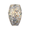 This item: Capri Satin Nickel One-Light ADA Wall Sconce