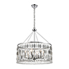 This item: Chamelon Polished Chrome Six-Light 24-Inch Pendant With Clear Crystal
