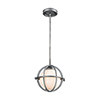 This item: Aubridge Weathered Zinc 10-Inch One-Light Mini Pendant