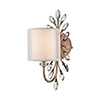 This item: Asbury Aged Silver One-Light Vanity Light