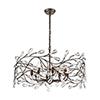 This item: Crislett Sunglow Bronze Eight-Light Pendant