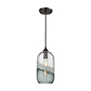 This item: Sutter Creek Oil Rubbed Bronze One-Light Mini Pendant