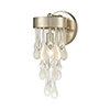 This item: Silver Leaf One-Light Wall Sconce