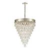 This item: Silver Leaf 10-Light Pendant