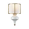 This item: Ceramique Antique Gold Leaf One-Light Wall Sconce