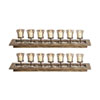 This item: Firenza Beachwood Candle Holder Display, Set of Two