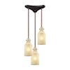 This item: Weatherly Oil Rubbed Bronze Three-Light Pendant