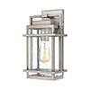 This item: Breckenridge Weathered Zinc One-Light Seven-Inch Wall Sconce