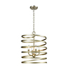 This item: Whirlwind Aged Silver Four-Light Pendant