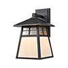 This item: Cottage Matte Black One-Light Wall Sconce