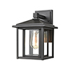 This item: Solitude Matte Black One-Light Seven-Inch Wall Sconce