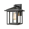This item: Solitude Matte Black One-Light Nine-Inch Wall Sconce