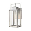 This item: Crested Butte Antique Brushed Aluminum Seven-Inch One-Light Outdoor Wall Sconce