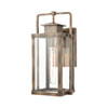 This item: Crested Butte Vintage Brass Seven-Inch One-Light Outdoor Wall Sconce