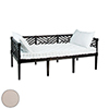 This item: Teak Daybed Cream Daybed Cushion Only